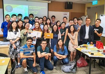 "voluntarily co-facilitated a ""Come, Let's Scrum"" workshop for NTU undergraduates - 2019"
