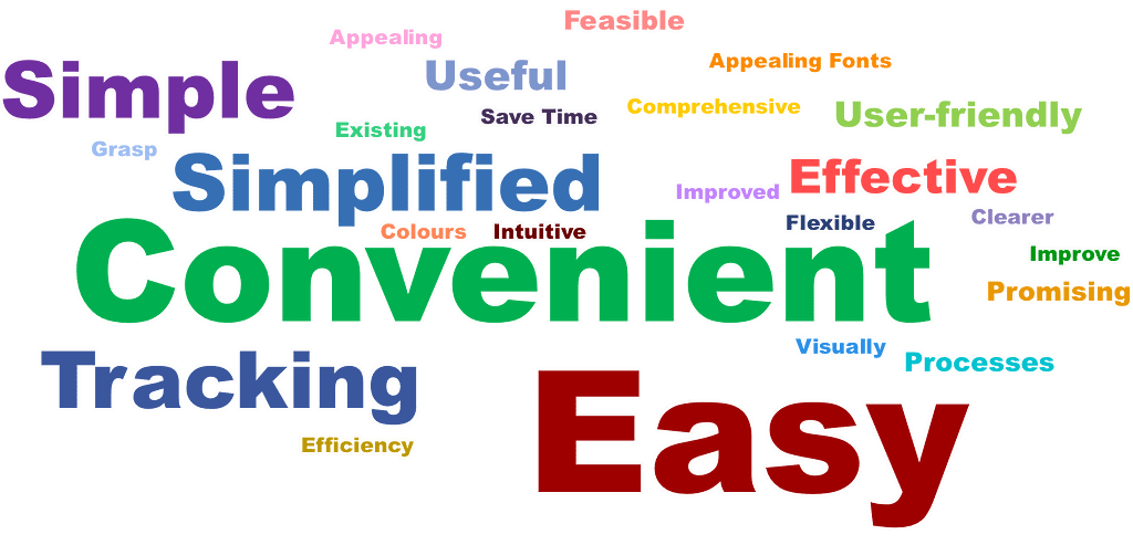 feedback from users in word cloud format