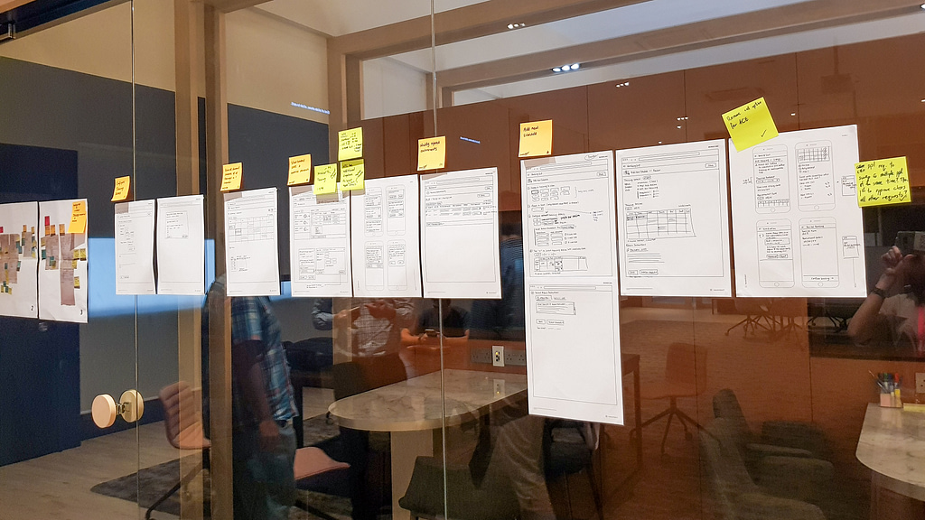 concept review using wireframes